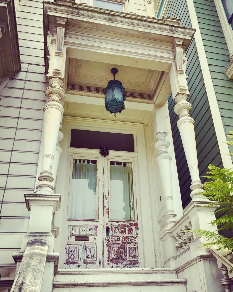 San Francisco porch