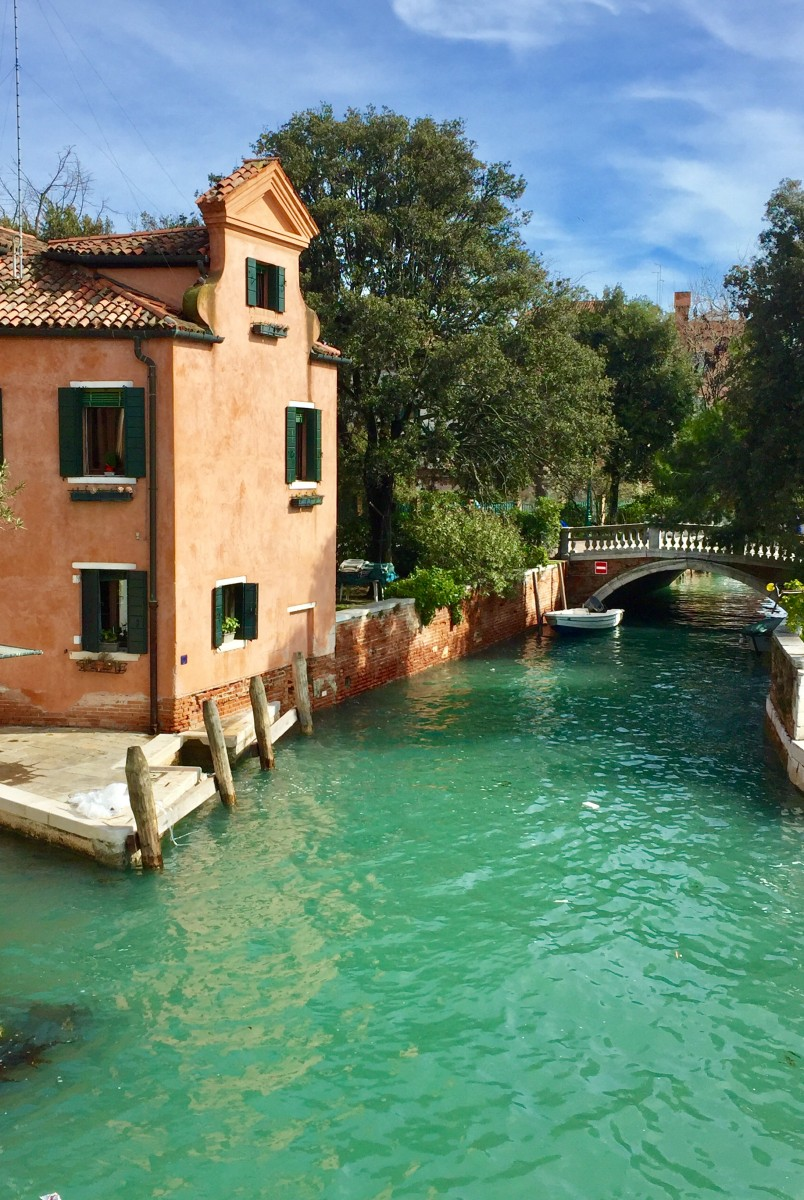 Venice canal junction