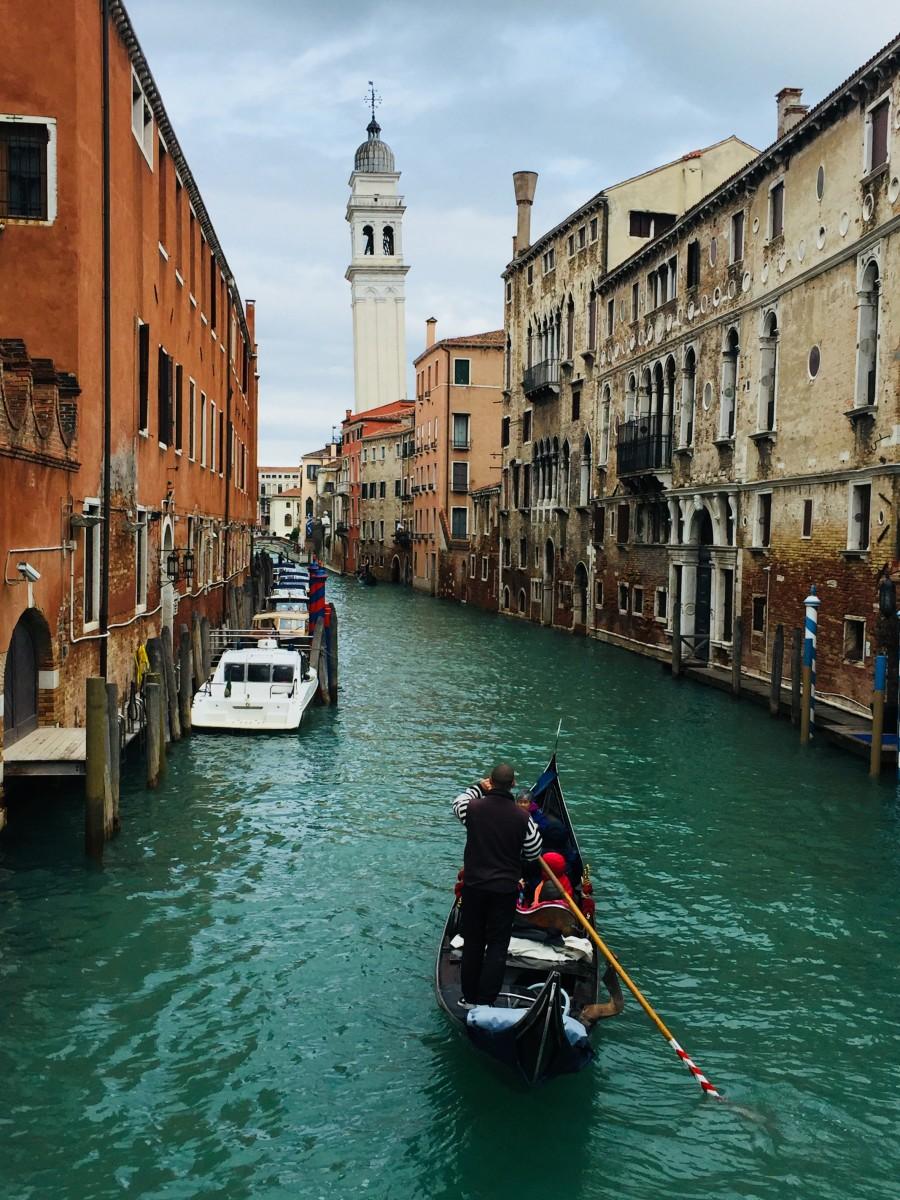 Venice church tower