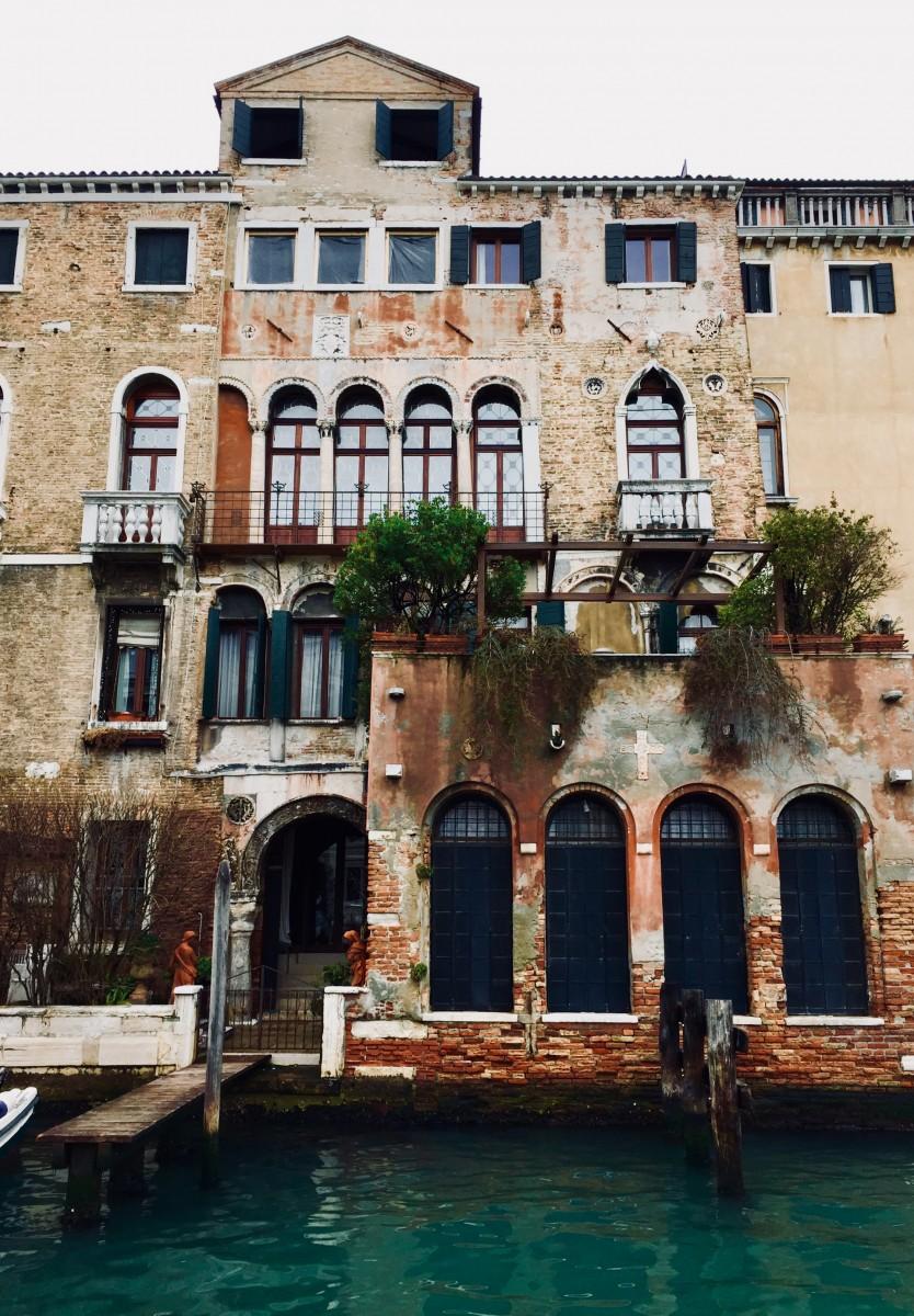 Venice crumbling